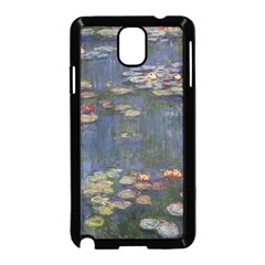 Claude Monet   Water Lilies Samsung Galaxy Note 3 Neo Hardshell Case (black)