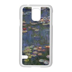 Claude Monet   Water Lilies Samsung Galaxy S5 Case (white)