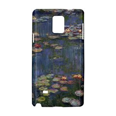 Claude Monet   Water Lilies Samsung Galaxy Note 4 Hardshell Case
