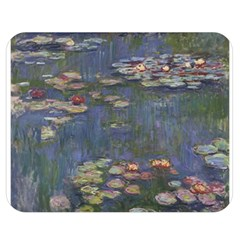 Claude Monet   Water Lilies Double Sided Flano Blanket (medium)