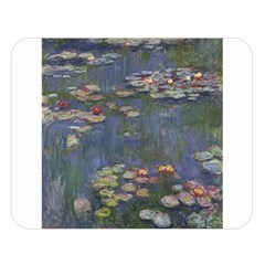 Claude Monet   Water Lilies Double Sided Flano Blanket (large)