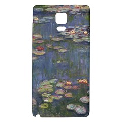 Claude Monet   Water Lilies Galaxy Note 4 Back Case
