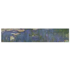 Claude Monet   Water Lilies Flano Scarf (small)