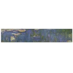 Claude Monet   Water Lilies Flano Scarf (Large)