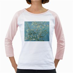 Almond Blossom Tree Girly Raglans