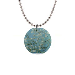 Almond Blossom Tree Button Necklaces