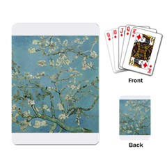Almond Blossom Tree Playing Card