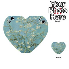 Almond Blossom Tree Playing Cards 54 (heart)