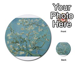 Almond Blossom Tree Multi-purpose Cards (Round)