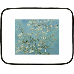 Almond Blossom Tree Fleece Blanket (Mini)