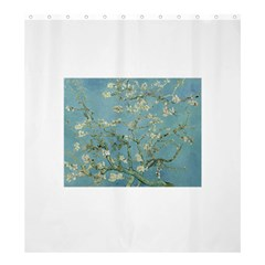 Almond Blossom Tree Shower Curtain 66  x 72  (Large)