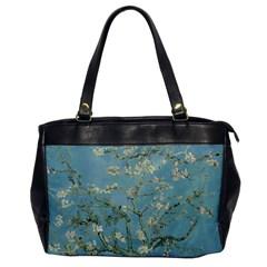 Almond Blossom Tree Office Handbags