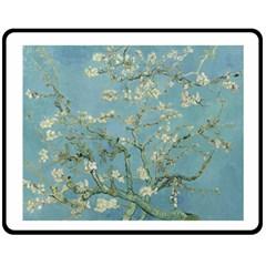 Almond Blossom Tree Fleece Blanket (medium)