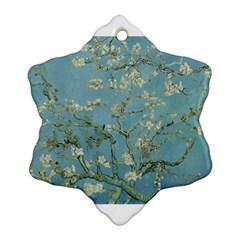 Almond Blossom Tree Ornament (snowflake)