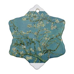 Almond Blossom Tree Snowflake Ornament (2-Side)