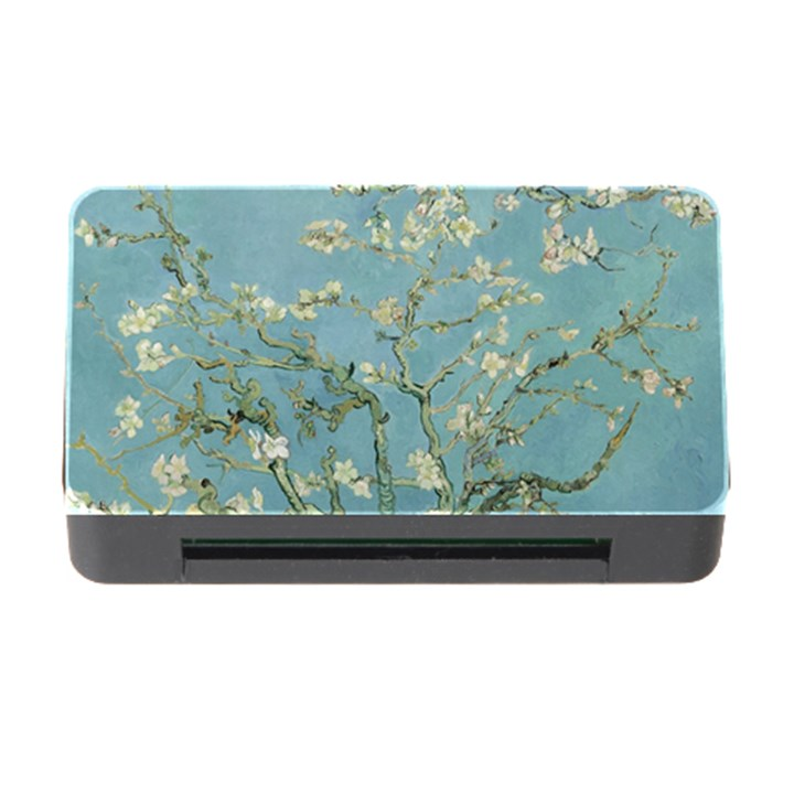 Almond Blossom Tree Memory Card Reader with CF