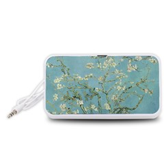 Almond Blossom Tree Portable Speaker (White)