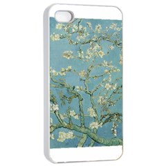 Almond Blossom Tree Apple iPhone 4/4s Seamless Case (White)