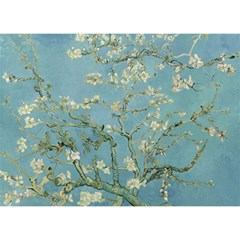 Almond Blossom Tree Birthday Cake 3d Greeting Card (7x5)