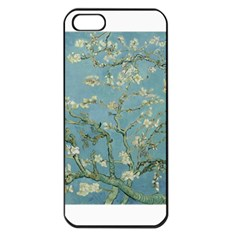 Almond Blossom Tree Apple Iphone 5 Seamless Case (black)