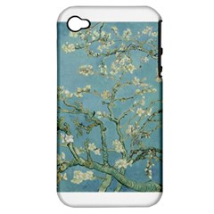 Almond Blossom Tree Apple Iphone 4/4s Hardshell Case (pc+silicone)
