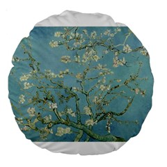 Almond Blossom Tree Large 18  Premium Round Cushions