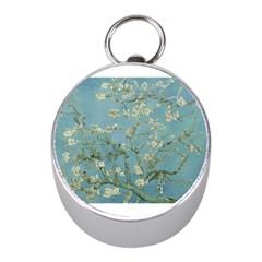 Almond Blossom Tree Mini Silver Compasses