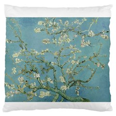 Almond Blossom Tree Large Flano Cushion Cases (Two Sides)