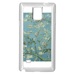 Almond Blossom Tree Samsung Galaxy Note 4 Case (White)