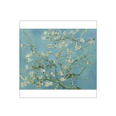 Almond Blossom Tree Satin Bandana Scarf