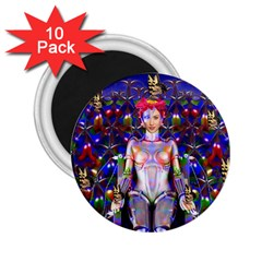 Robot Butterfly 2 25  Magnets (10 Pack)