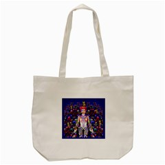Robot Butterfly Tote Bag (Cream)