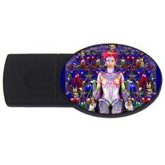 Robot Butterfly Usb Flash Drive Oval (4 Gb)