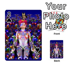 Robot Butterfly Playing Cards 54 Designs