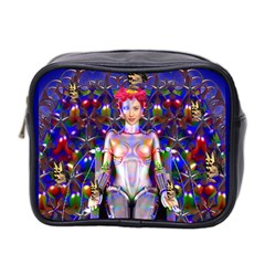 Robot Butterfly Mini Toiletries Bag 2 Side