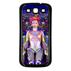 Robot Butterfly Samsung Galaxy S3 Back Case (black)
