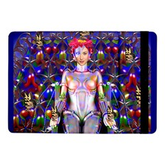 Robot Butterfly Samsung Galaxy Tab Pro 10 1  Flip Case