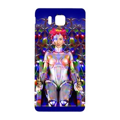 Robot Butterfly Samsung Galaxy Alpha Hardshell Back Case