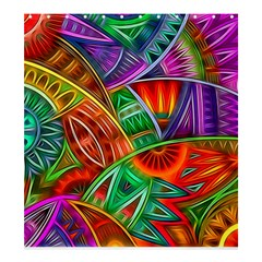 Happy Tribe Shower Curtain 66  x 72  (Large)