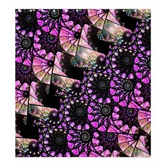 Hippy Fractal Spiral Stacks Shower Curtain 66  x 72  (Large)