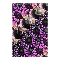 Hippy Fractal Spiral Stacks Shower Curtain 48  x 72  (Small)