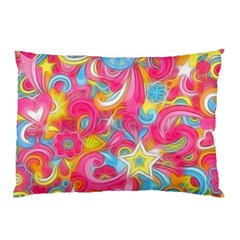 Hippy Peace Swirls Pillow Cases (Two Sides)