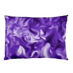 Lavender Smoke Swirls Pillow Case