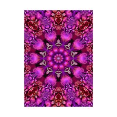 Pink Fractal Kaleidoscope  Shower Curtain 48  x 72  (Small)