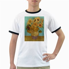 Vincent Willem Van Gogh, Dutch   Sunflowers   Google Art Project Ringer T-Shirts