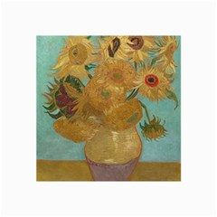 Vincent Willem Van Gogh, Dutch   Sunflowers   Google Art Project Collage 12  X 18