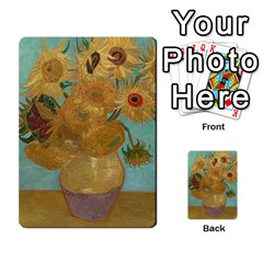Vincent Willem Van Gogh, Dutch   Sunflowers   Google Art Project Multi Purpose Cards (rectangle)