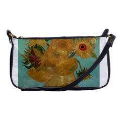 Vincent Willem Van Gogh, Dutch   Sunflowers   Google Art Project Shoulder Clutch Bags