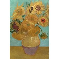 Vincent Willem Van Gogh, Dutch   Sunflowers   Google Art Project 5.5  x 8.5  Notebooks
