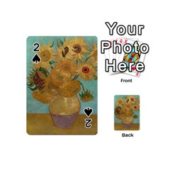 Vincent Willem Van Gogh, Dutch   Sunflowers   Google Art Project Playing Cards 54 (Mini)